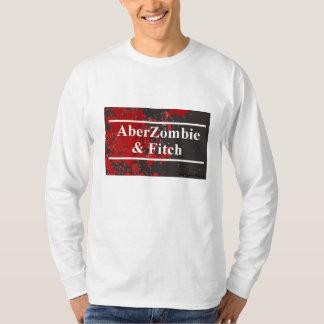 AberZombie & Fitch Men's Long Sleeve blood version T-Shirt