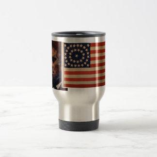 "Abe's ""mug"" stainless steel travel mug"