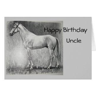 Abessinier, Happy Birthday, Uncle Card