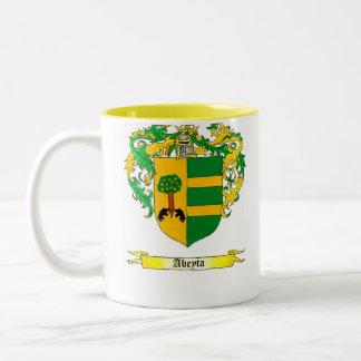 Abeyta Shield of Arms Two-Tone Mug