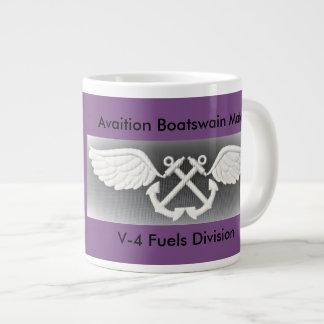ABF fuels coffee mug- Uss Peleliu Large Coffee Mug