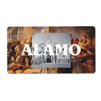 ABH Alamo Shipping Label