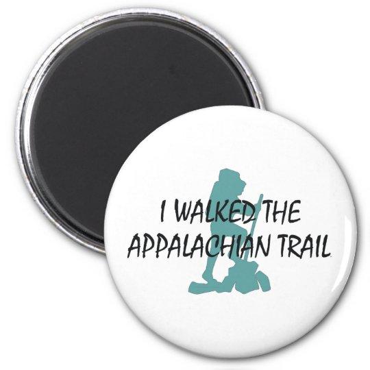 ABH Appalachian Trail Hiker 6 Cm Round Magnet