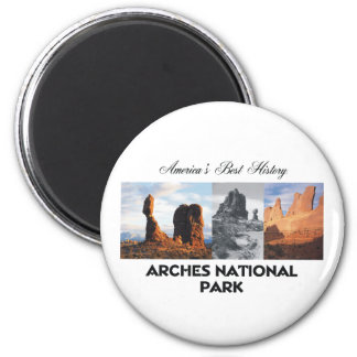 ABH Arches 6 Cm Round Magnet