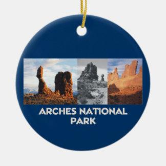 ABH Arches Christmas Ornament