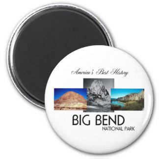 ABH Big Bend 6 Cm Round Magnet