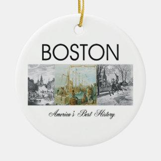 ABH Boston Christmas Ornament