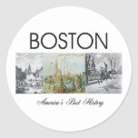 ABH Boston Round Sticker