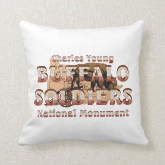 ABH Buffalo Soldiers Throw Pillow