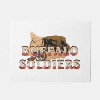 ABH Buffalo Soldiers Doormat