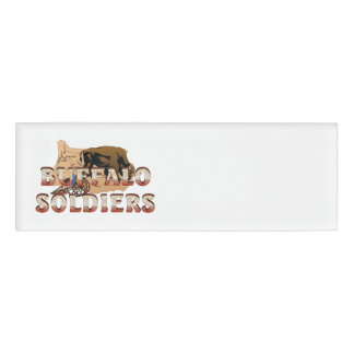 ABH Buffalo Soldiers Name Tag