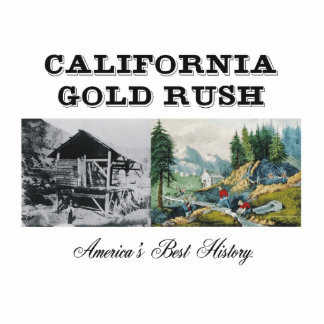 ABH California Gold Rush Standing Photo Sculpture