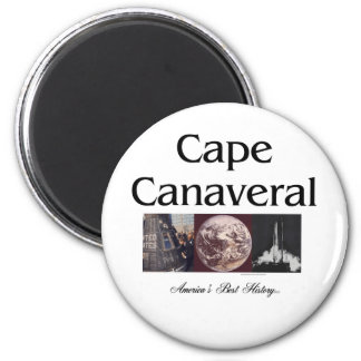 ABH Cape Canaveral 6 Cm Round Magnet