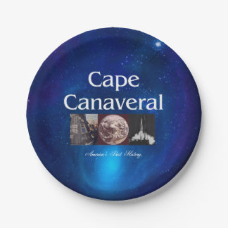 ABH Cape Canaveral Paper Plate