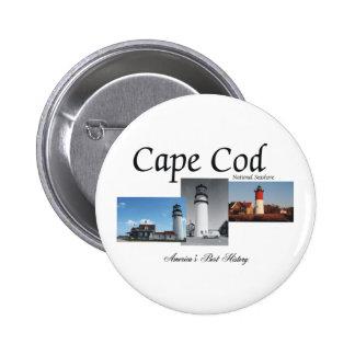 ABH Cape Cod 6 Cm Round Badge