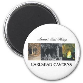 ABH Carlsbad Caverns 6 Cm Round Magnet