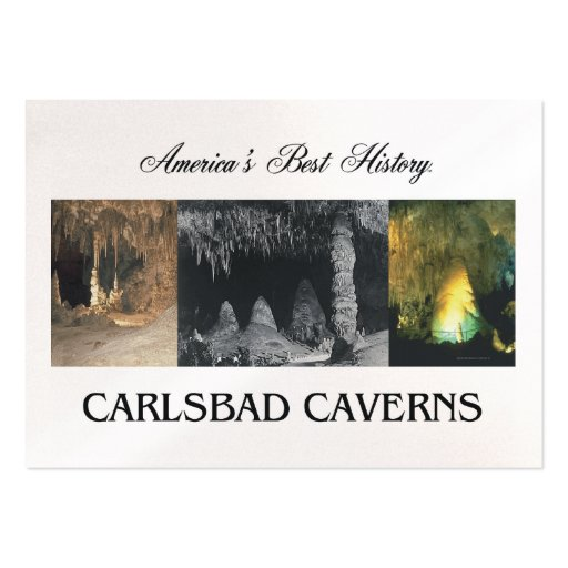 ABH Carlsbad Caverns Business Card Templates