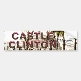 ABH Castle Clinton Bumper Sticker