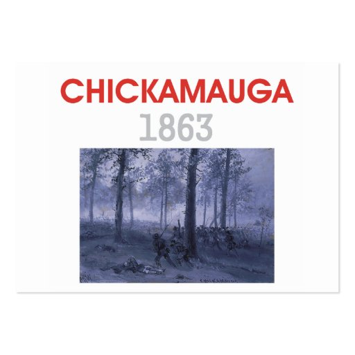 ABH Chickamauga Large Business Cards (Pack Of 100)