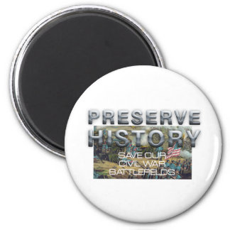 ABH Civil War Battlefield Preservation Magnet