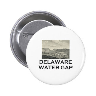 ABH Delaware Water Gap 6 Cm Round Badge