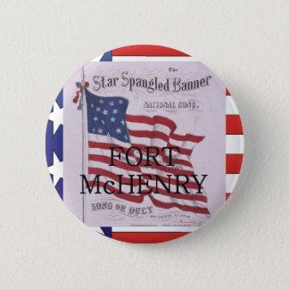 ABH Fort McHenry 6 Cm Round Badge