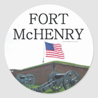 ABH Fort McHenry Round Sticker