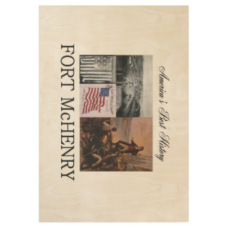 ABH Fort McHenry Wood Poster