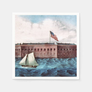 ABH Fort Sumter Disposable Napkin