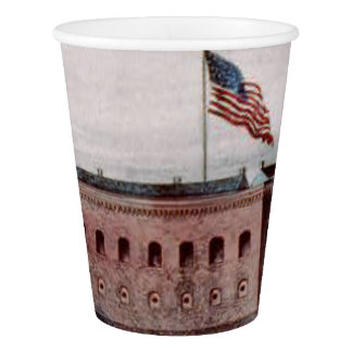 ABH Fort Sumter Paper Cup