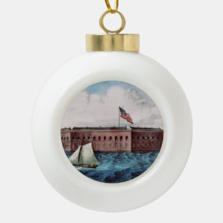 ABH Fort Sumter Ornaments