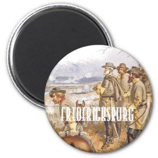 ABH Fredericksburg 6 Cm Round Magnet