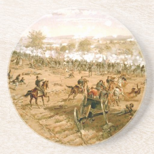 ABH Gettysburg Drink Coasters