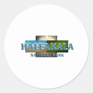 ABH Haleakala Round Sticker