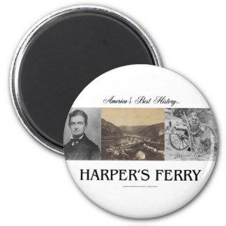 ABH Harper's Ferry 6 Cm Round Magnet