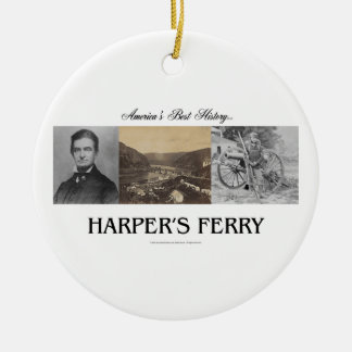 ABH Harpers Ferry Round Ceramic Decoration
