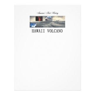 ABH Hawaii Volcano 21.5 Cm X 28 Cm Flyer