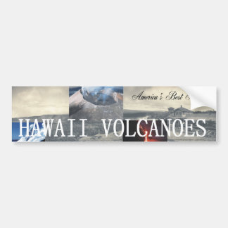 ABH Hawaii Volcano Bumper Sticker