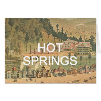 ABH Hot Springs Greeting Card