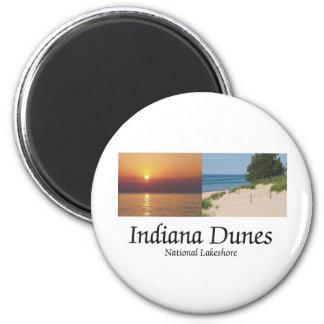 ABH Indiana Dunes 6 Cm Round Magnet