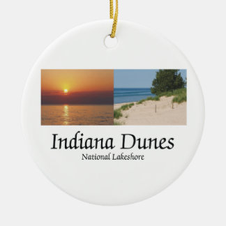 ABH Indiana Dunes Christmas Ornament