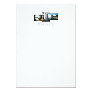 ABH Isle Royale 13 Cm X 18 Cm Invitation Card