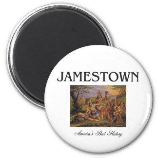 ABH Jamestown 6 Cm Round Magnet