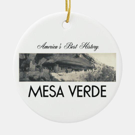 ABH Mesa Verde Christmas Ornament