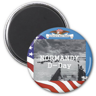 ABH Normandy 6 Cm Round Magnet