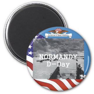 ABH Normandy 6 Cm Round Magnet