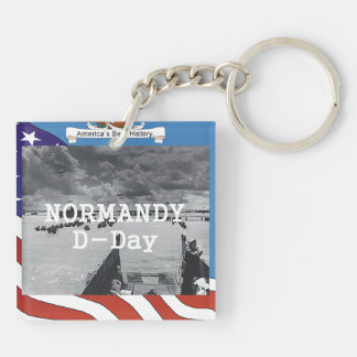 ABH Normandy Double-Sided Square Acrylic Key Ring