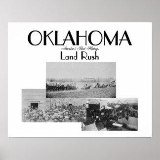 ABH Oklahoma Land Rush Poster