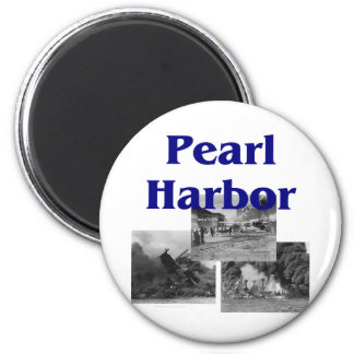 ABH Pearl Harbor 6 Cm Round Magnet