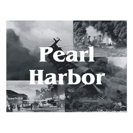 ABH Pearl Harbour Postcard